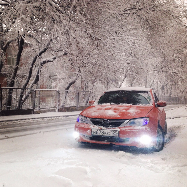 Первый день зимы)